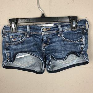 Hollister Women's Socal Stretch Jean Shorts Size 0